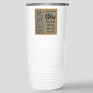 Odin Demands Grow Up Stainless Steel Travel Mug