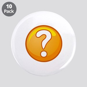 """THE ANSWER 3.5"""" Button (10 pack)"""