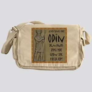 Odin Demands Grow Up Messenger Bag