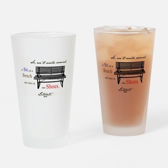 Literati - So, we'll walk aro Drinking Glass