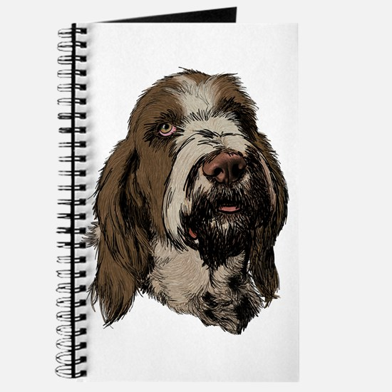 Cute Spinone Journal
