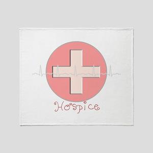 HOSPICE Throw Blanket