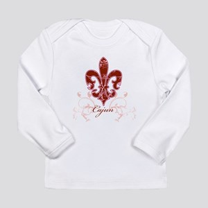 Fleur De Lis 6 Long Sleeve Infant T-Shirt