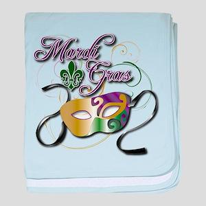 Mardi Gras 3 baby blanket