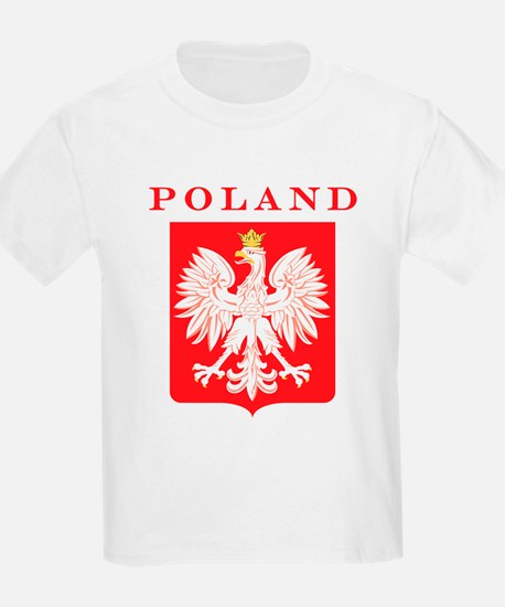 Poland Eagle Red Shield T-Shirt