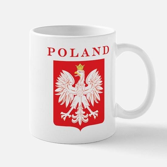 Poland Eagle Red Shield Mug