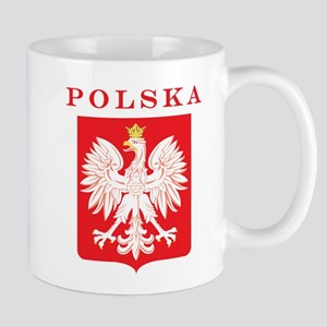 Polska Eagle Red Shield Mug