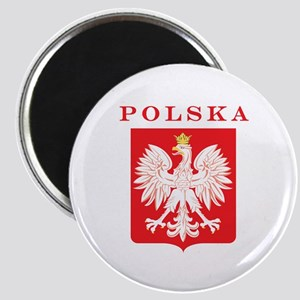 Polska Eagle Red Shield Magnet