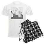 Holidays (no text) Men's Light Pajamas