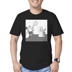 Holidays (no text) Men's Fitted T-Shirt (dark)