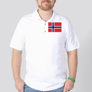 Flag of Norway Golf Shirt