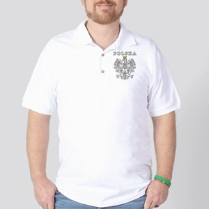 Polska With Polish Eagle Golf Shirt