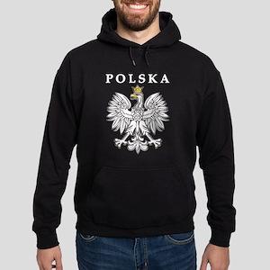 Polska With Polish Eagle Hoodie (dark)