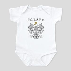 Polska With Polish Eagle Infant Bodysuit
