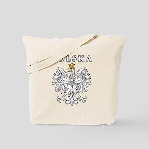 Polska With Polish Eagle Tote Bag