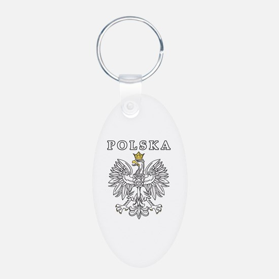 Polska With Polish Eagle Keychains