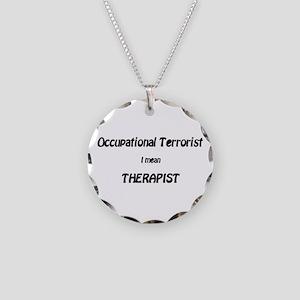 Occupationa Terrorist Shirts Necklace Circle Charm