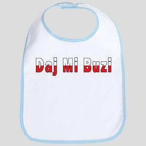 Daj Mi Buzi - Give me a Kiss Bib