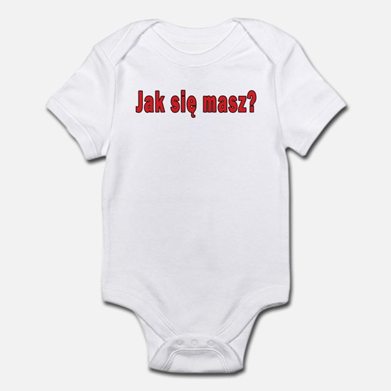 jak sie masz? - How Are You Infant Bodysuit