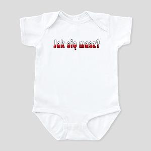 jak sie masz? - How Are You Infant Bodysuit