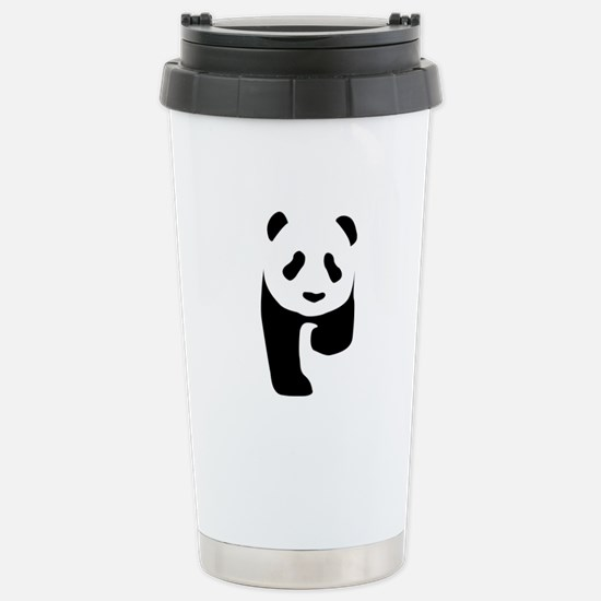 Panda Stainless Steel Travel Mug
