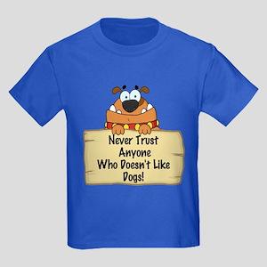 Like Dogs Kids Dark T-Shirt