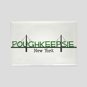Poughkeepsie New York Rectangle Magnet