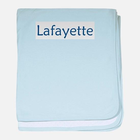 Lafayette 2 baby blanket