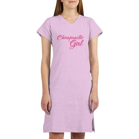Chiropractic Girl Women's Nightshirt