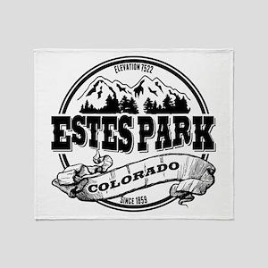 Estes Park Old Circle Throw Blanket