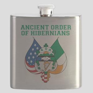 Ancient Order Of Hibernians Flask