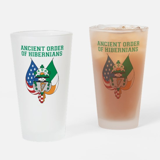 Ancient Order Of Hibernians Drinking Glass