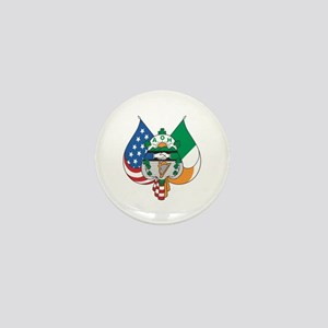 Ancient Order Of Hibernians Emblem Mini Button