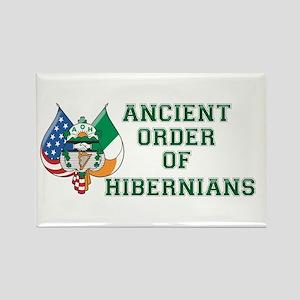 Ancient Order Of Hibernians Emblem Magnets