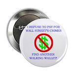 "Walking Wallet 2.25"" Button"