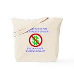 Walking Wallet Tote Bag