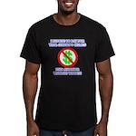 Walking Wallet Men's Fitted T-Shirt (dark)