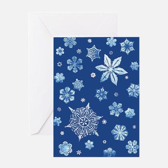 Bentley Snowflake Greeting Card