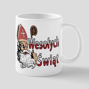 Wesolych Swiat St. Nicholas Mug