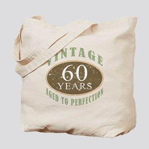 Vintage 60th Birthday Tote Bag