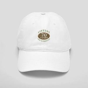 Vintage 70th Birthday Cap