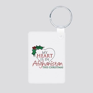 My heart is in Afghanistan/Christmas - Aluminum Ph