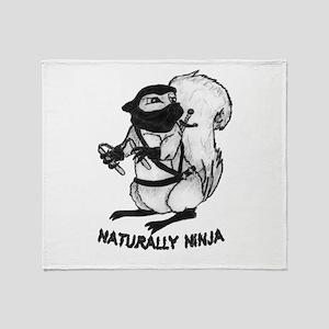 Naturally Ninja Throw Blanket