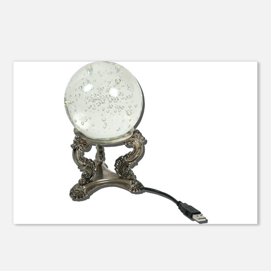 USB Crystal Ball Postcards (Package of 8)