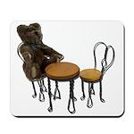 Teddy Bear Bistro Setting Mousepad