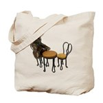 Teddy Bear Bistro Setting Tote Bag