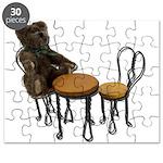 Teddy Bear Bistro Setting Puzzle