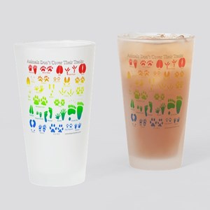 Colorful Rainbow Drinking Glass