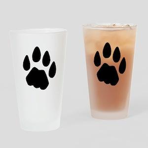 Cougar Shirt Drinking Glass