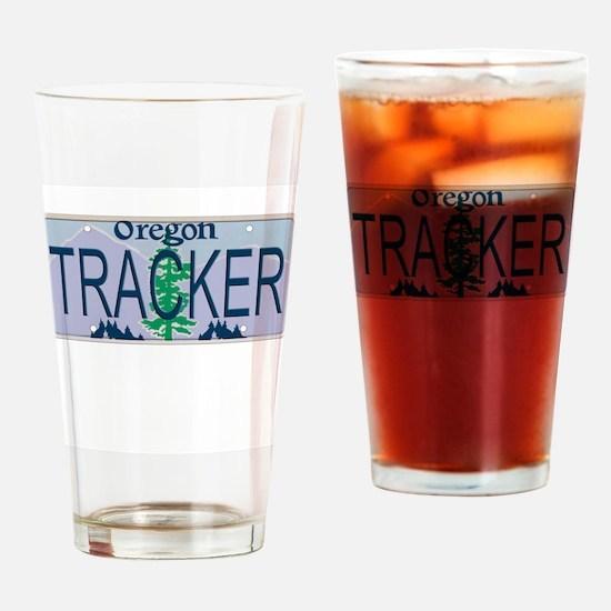 Oregon Tracker Drinking Glass